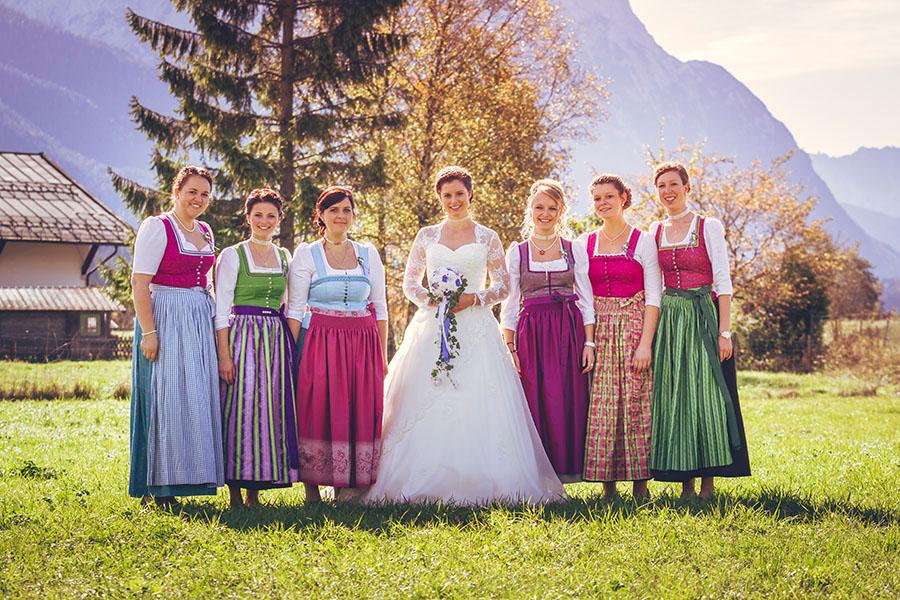 Cornelia und Franz Hochzeitsfotos Wallgau Bayern 36