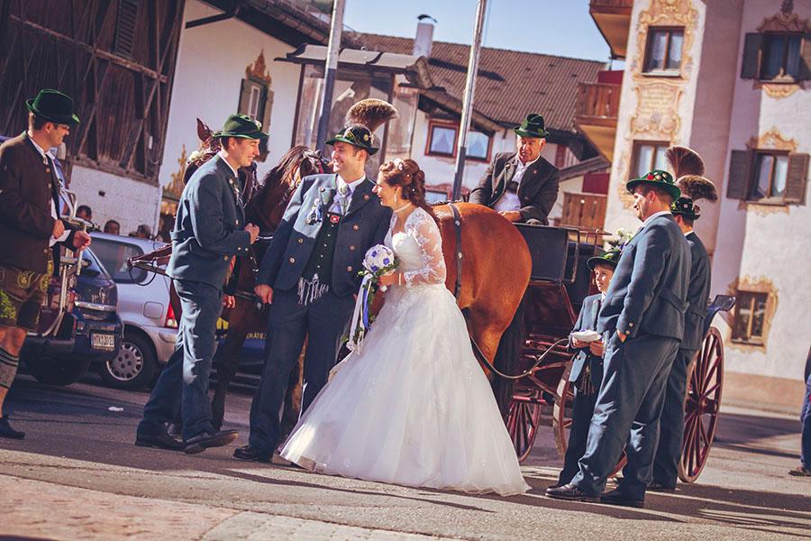Cornelia und Franz Hochzeitsfotos Wallgau Bayern 42