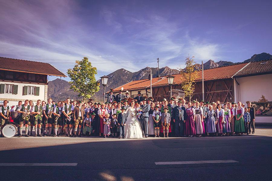 Cornelia und Franz Hochzeitsfotos Wallgau Bayern 56