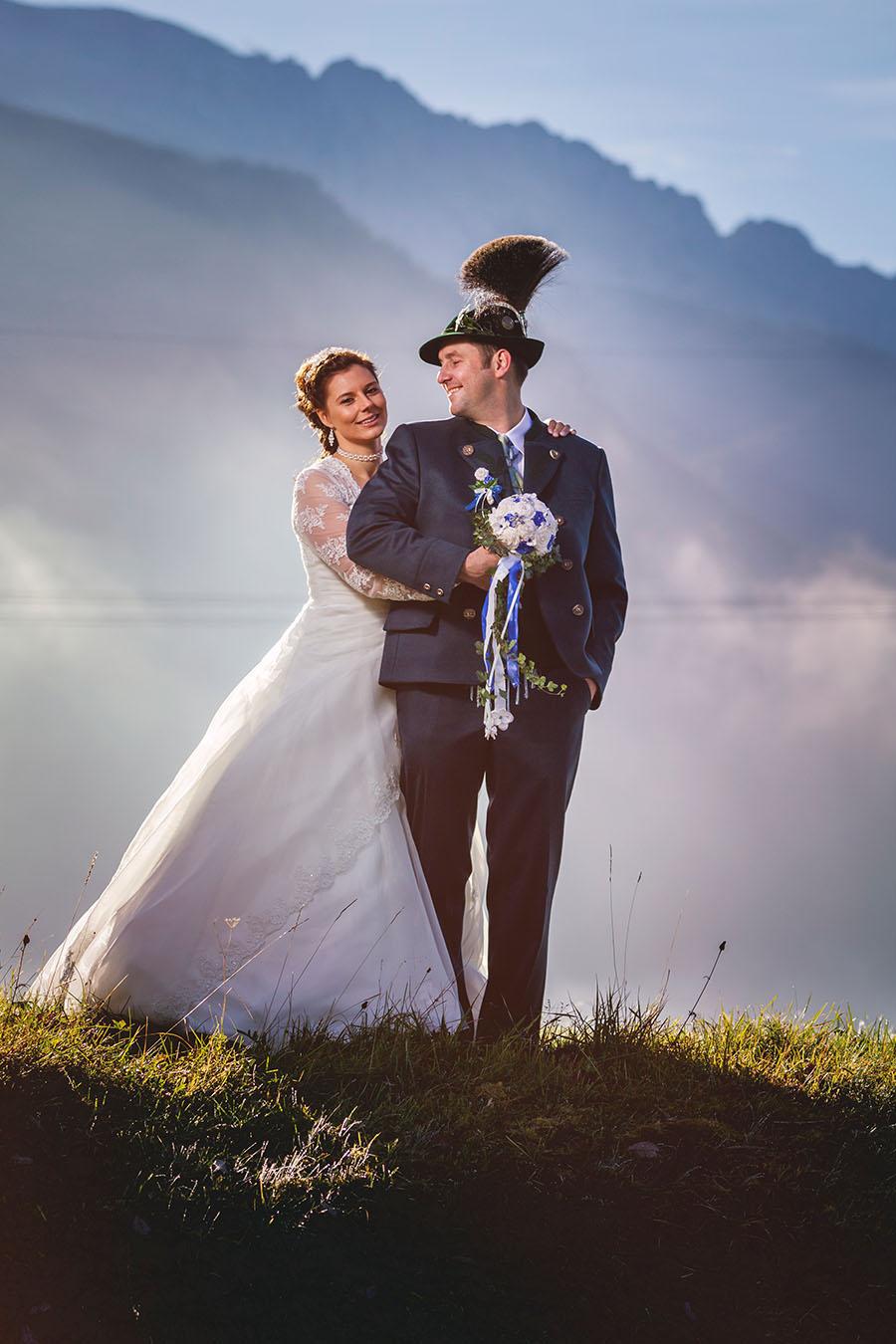 Cornelia und Franz Hochzeitsfotos Wallgau Bayern 75_17