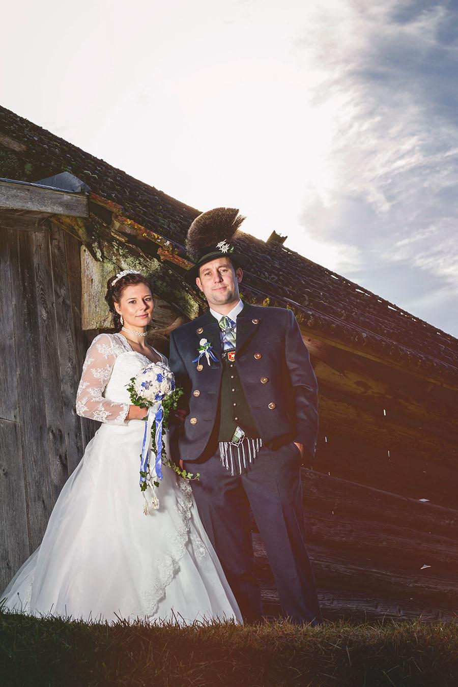 Cornelia und Franz Hochzeitsfotos Wallgau Bayern 75_23