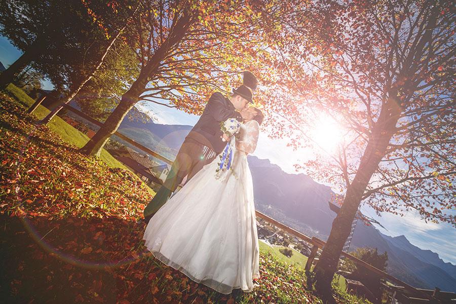 Cornelia und Franz Hochzeitsfotos Wallgau Bayern 75_29